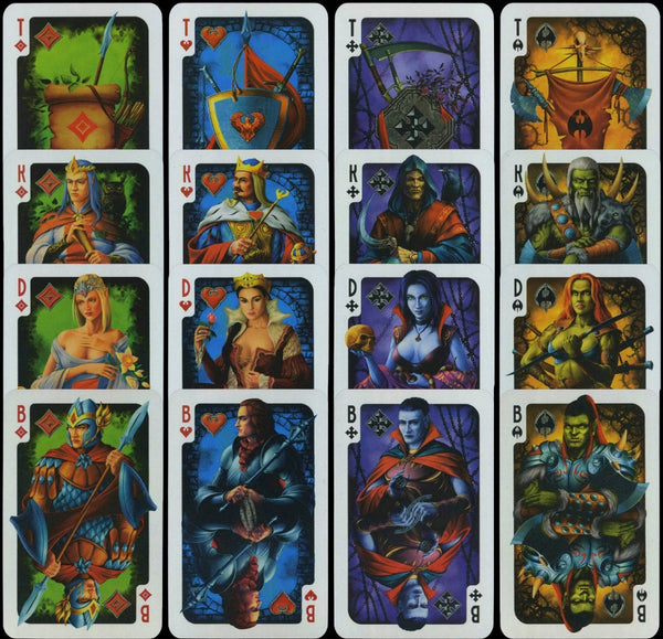 Fantasy Style Playing Cards Vintage Russian Rare deck from 2008