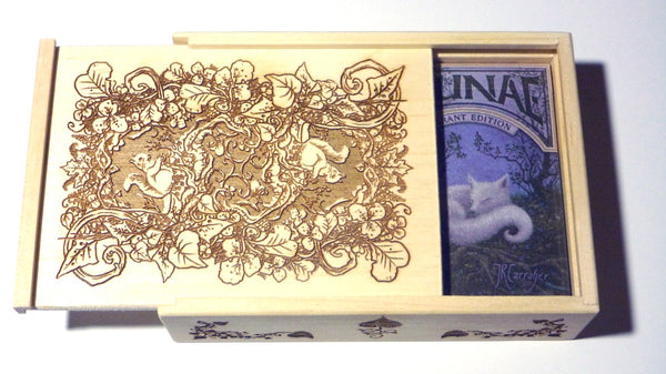 Faunae Playing Cards Vibrant Veiled Editions Rare Engraved Collectors 2-Deck Set