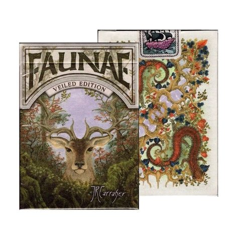 Faunae Playing Cards Veiled Animal Edition by Brain Vessel Pearl Finish