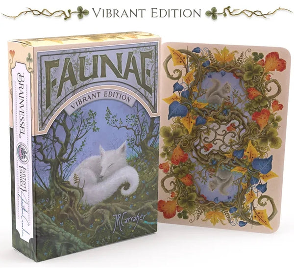 Faunae Playing Cards Vibrant Animal Edition by Brain Vessel Pearl Finish