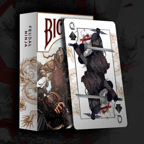 Feudal NINJA Playing Cards Premium Japanese Deck warrior