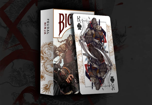 Buyworthy:Feudal NINJA Playing Cards Premium Japanese Deck Made in USA Brand New & Sealed