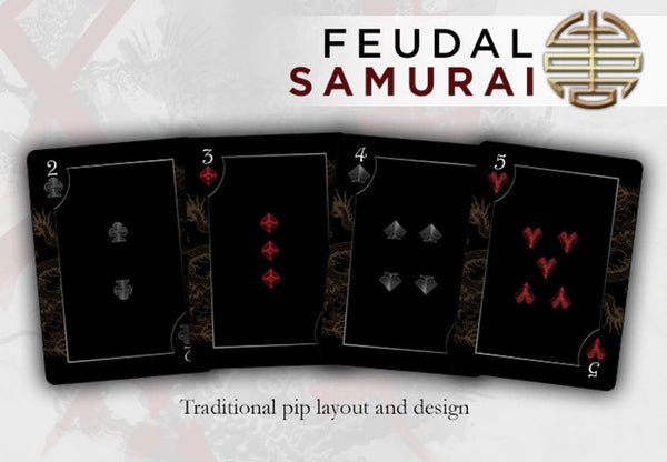 Buyworthy:Feudal SAMURAI Playing Cards Premium Japanese Deck Made in USA Brand New