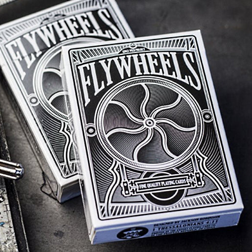 Flywheels Playing Cards designed by Jackson Robinson