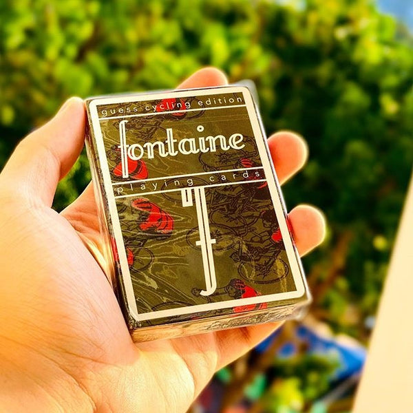 Fontaine Guess Cycling Edition Playing Cards Rare Cardistry Deck by Zach Mueller