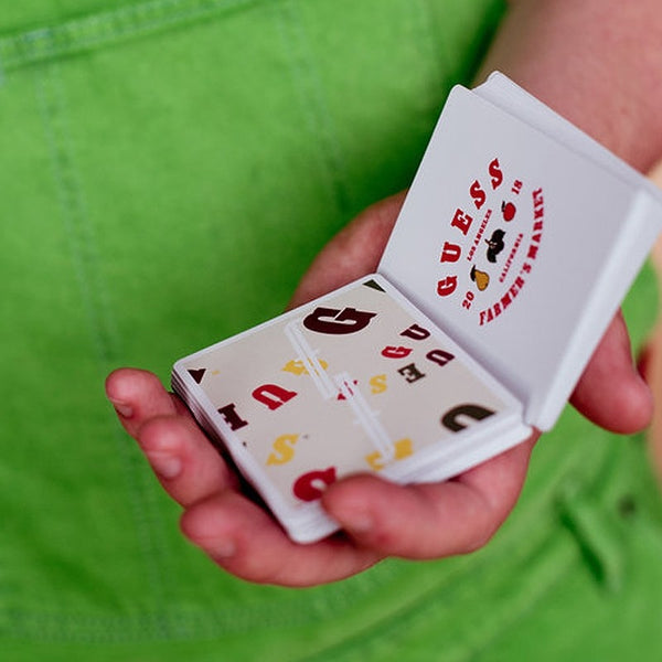Fontaine Guess Edition Playing Cards Rare Farmers Market by Zach Mueller