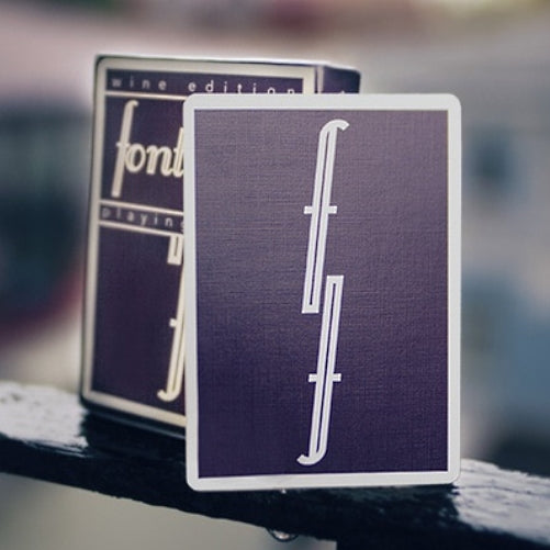 Fontaine Wine Edition Playing Cards Rare Deck by Zach Mueller