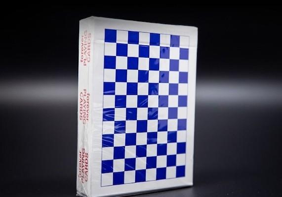 Forever Checkerboard Playing Cards R.02 by Anyone Worldwide