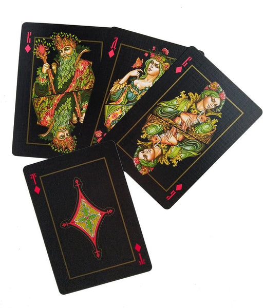 The Four Worlds Playing Cards Magic Fantasy Collectors Deck from Russia