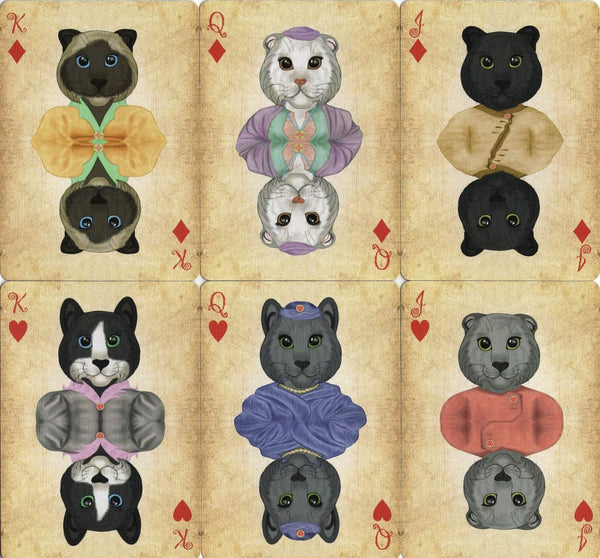 Friendly Felines Playing Cards Cat Limited Edition deck
