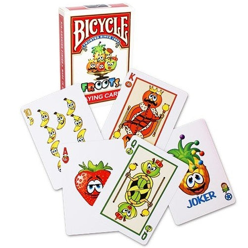 FROOTS Playing Cards Bicycle Fruit deck 100% healthy fun for the kids