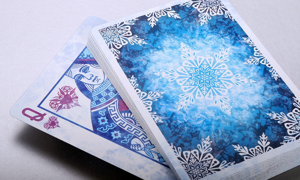 Frost Playing Cards Ice Blue Poker Magic Cool Cold Deck Vieted Org Vn