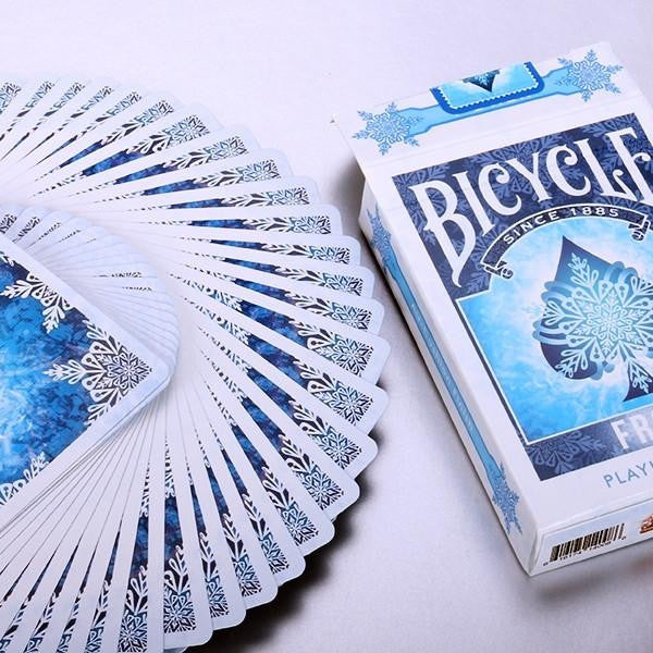 Buyworthy:Frost Playing Cards Ice Blue Poker Magic Deck Brand New & Sealed