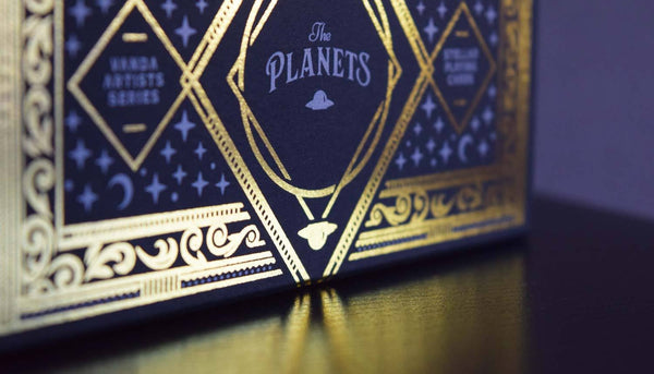 The Planets Playing Cards Collection Case (Empty) Holds 8 Decks