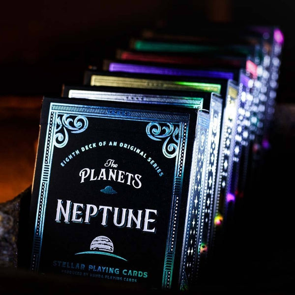 The Planets Playing Cards Full Collection Set + Rare Mercury 8-Decks