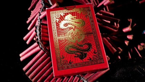Fulton's Chinatown Playing Cards Original D&D Rare 2012 Deck Cambric 37