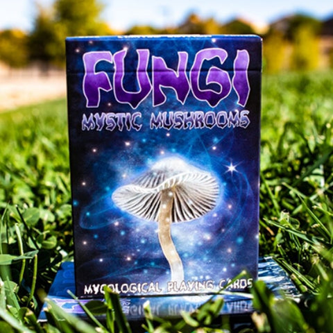 Fungi Mystic Mushrooms Playing Cards Mycological Limited Edition