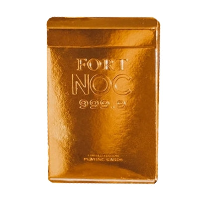 Fort NOC Playing Cards Gold Limited Edition Marked Deck