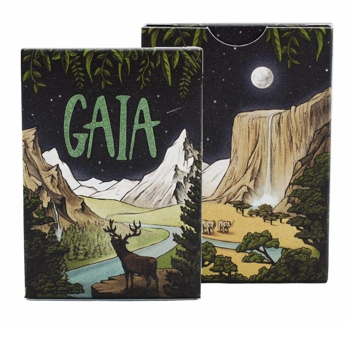 Gaia Playing Cards Moonlight Limited Edition by Forged Arts