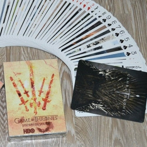 Game of Thrones Playing Cards Custom 54 Characters Deck