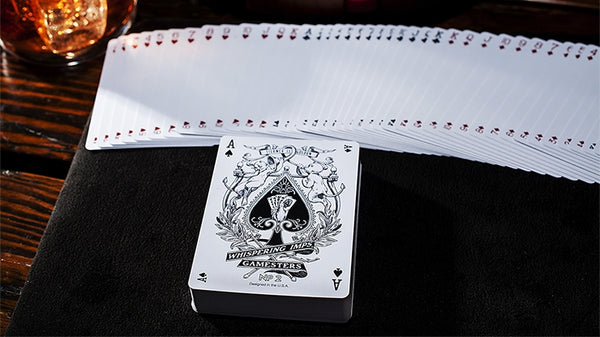 Whispering Imps Gamesters Playing Cards No. 2 Black Edition
