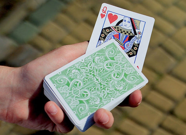 Gatorback Green Playing Cards Official David Blaine Magic Deck Rare