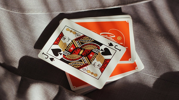 Gemini Casino 1975 Orange Playing Cards by Gemini Number Sealed