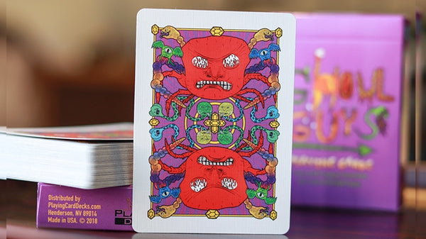 Ghoul Guys Playing Cards made in USA Illustrated by Elijah Hayles