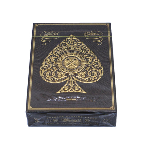 Gold Artisan Playing Cards Rare Luxury Artisans Gold Edition by Theory 11