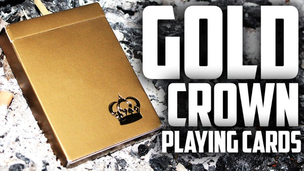 Buyworthy:Gold Crown Playing Cards Magic Poker ~ Rare Premium Deck ~ by Fracturize USA