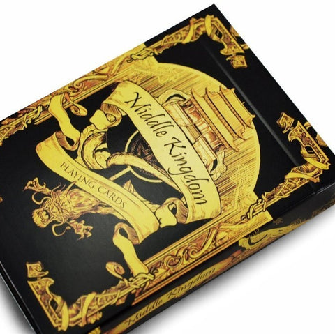 Buyworthy:Middle Kingdom Playing Cards Gold Edition Poker Magic Deck Ancient China New