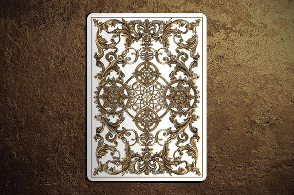 Golden Age Playing Cards White Winter Edition Gold ~ 3 Deck Collectors Set