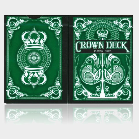 Green Crown Playing Cards 2nd Edition Blue Crown Series Deck Made in USA