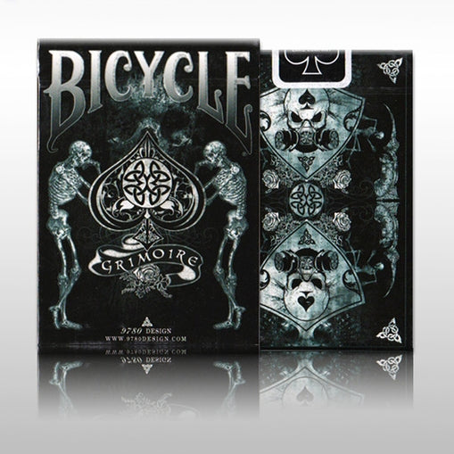 Grimoire Playing Cards by 9780 Design Arcane Skull Undead