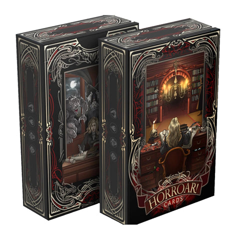 HORROAR Playing Cards Clear Edition Fantasy deck Made in Europe