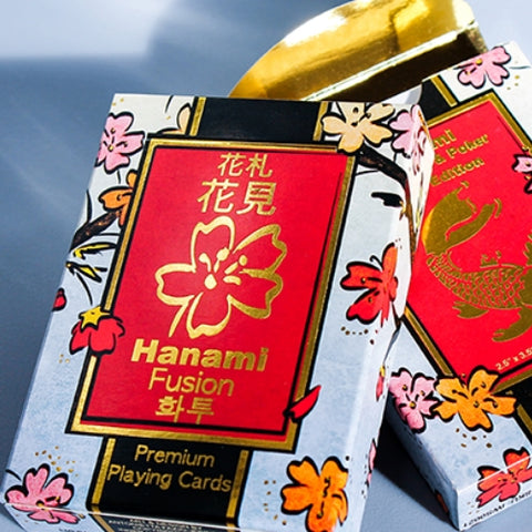 Hanami Fusion Playing Cards Poker deck 1st Edition printed by Legends