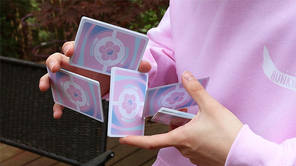Hanami Playing Cards Cherry Blossom deck