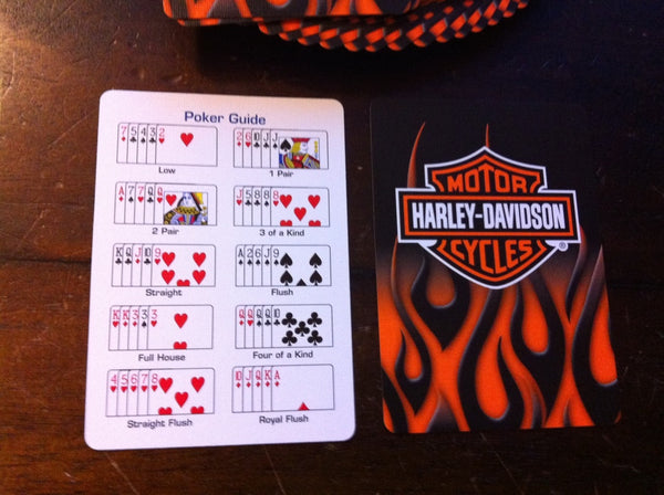 Buyworthy:Harley Davidson Playing Cards Motorcycles Genuine Poker Deck Made in USA