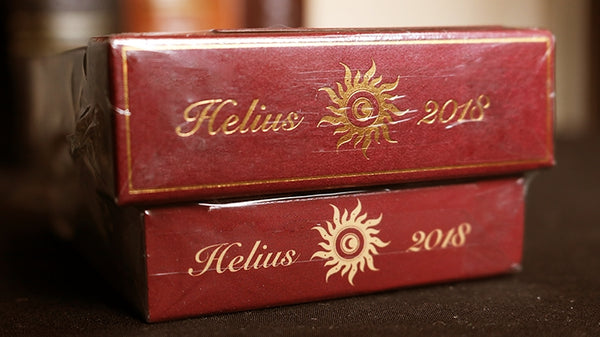 Helius Sun Playing Cards Deluxe Limited Edition Set 2 decks