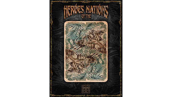 Heroes of the Nations Playing Cards Dark Edition Graphic Arts