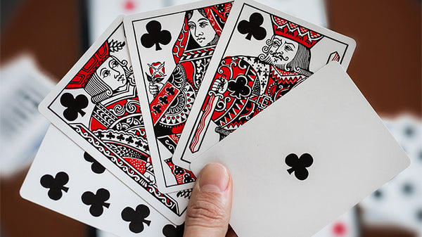 Hidden Leaves Playing Cards by Mahdi the Magician Fan Back No. 5