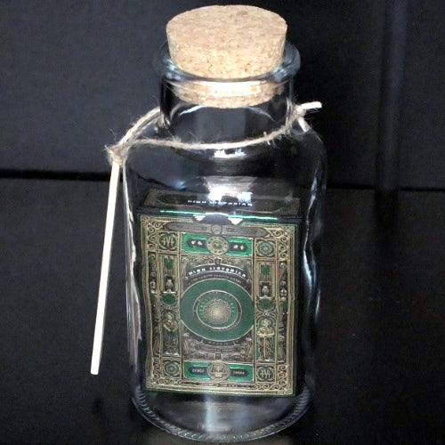 High Victorian Playing Cards deck in a Glass Bottle Rare Magic Collectors AIP
