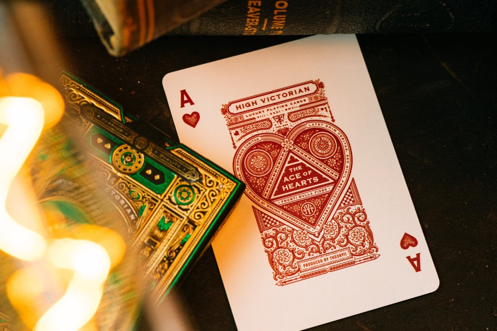 High Victorian Playing CardsPoker Deck by theory11Collectable