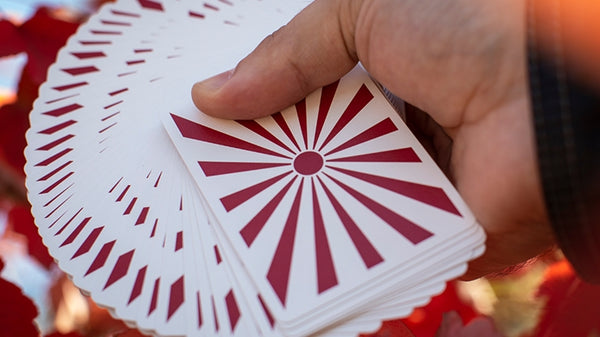 Hinode Playing Cards designed by  M. McClure and K. McIntosh