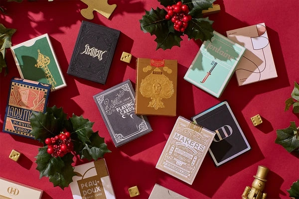 Holiday Mystery Playing Cards by Art of Play 2019 Release 3-Decks Bundle