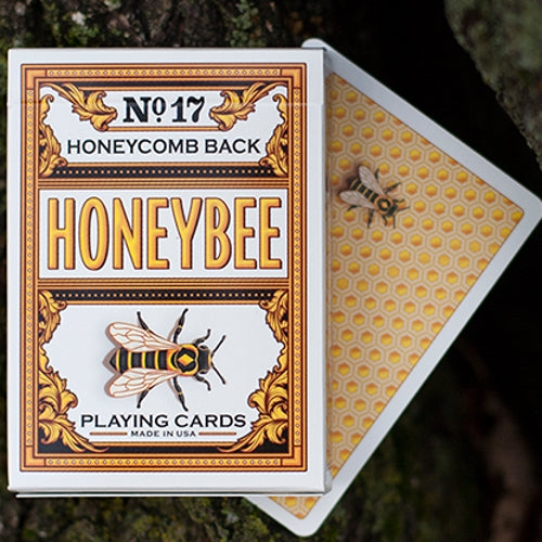 Honeybee Playing Cards V2 Yellow Edition Deck by Penguin Magic
