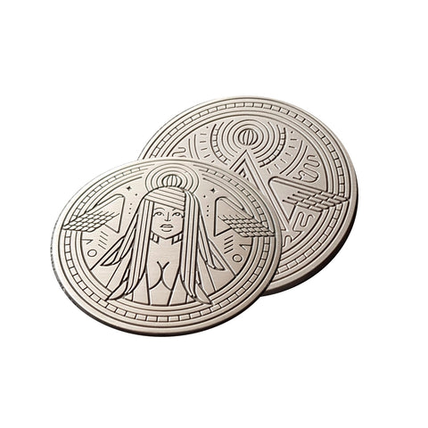 Modern Idols Hope Coin by Thirdway Playing Cards Italy