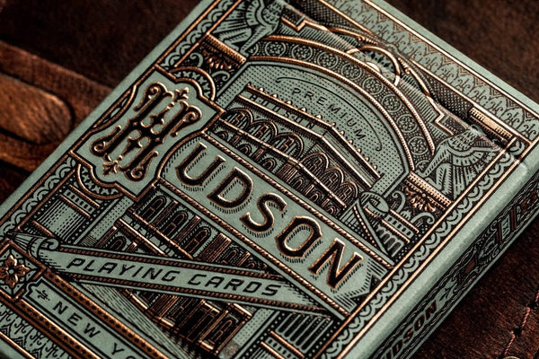Hudson Playing Cards Green by Theory 11 Luxury New York Design Deck