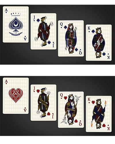 Illusionist Playing Cards Light Limited Edition deck by Luxx