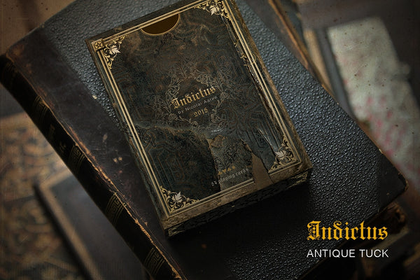 Indictus Antique Playing Cards Limited Edition by Nicolai Aaroe Very Rare
